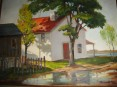 Texas Paintings, FORT WORTH CIRCLE, Brownlow, Parks, Mahaffey, Fort Worth Texas