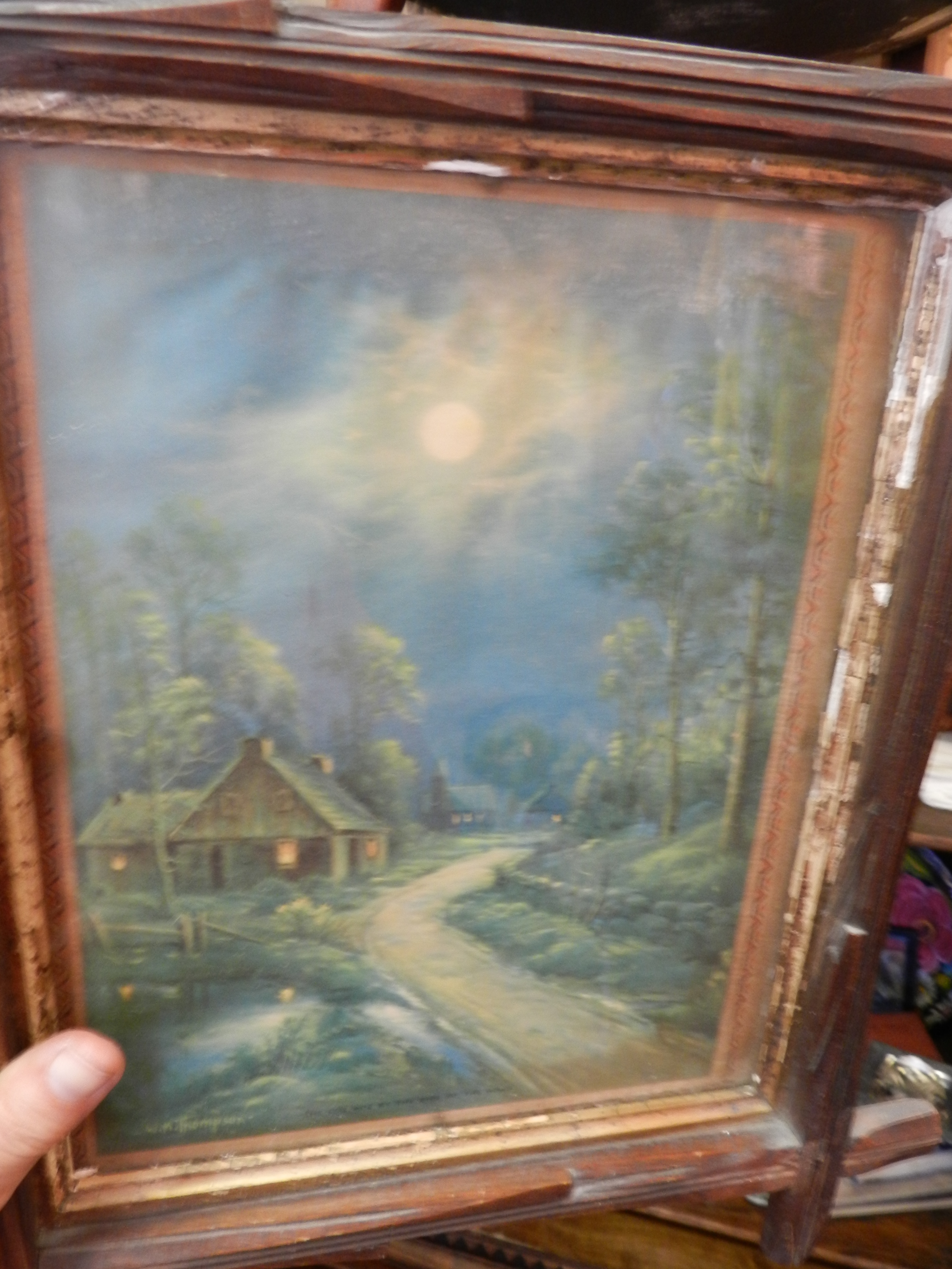 Vintage paintings & prints, antiques Fort Worth!