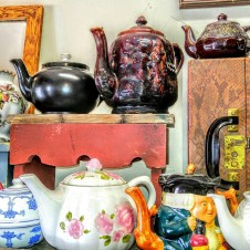 vintage Teapots, antiques Fort Worth