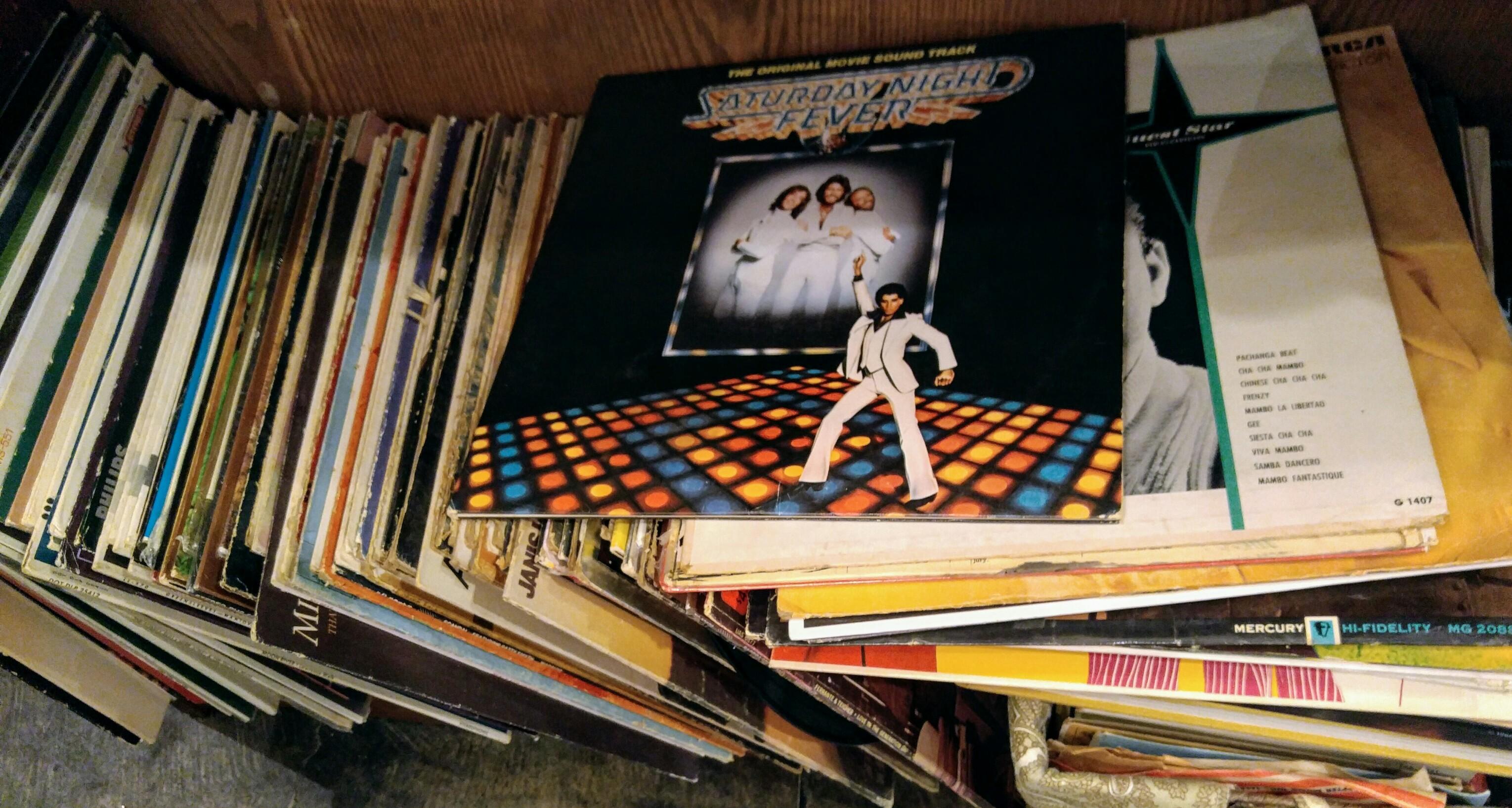 Vinyl, Records, Lps