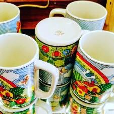 70s Coffee Mugs