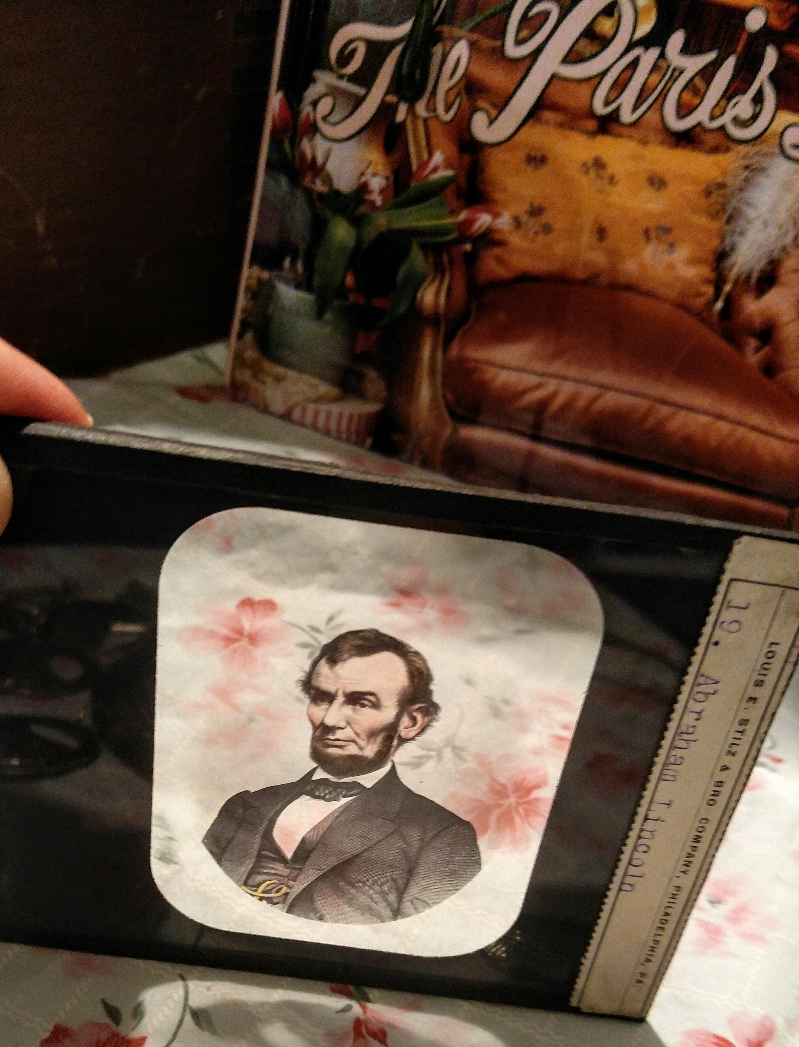 Antique Magic Lantern Slides, Abraham Lincoln & More