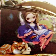 Alice in Wonderland Tote Purse Bag
