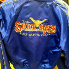 Vintage Satin Fort Worth Stock Show Jacket, Fort Worth Texas