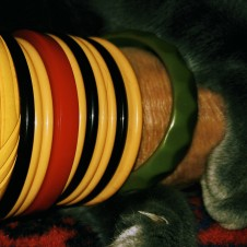 Bakelite Bangles, Fort Worth vintage jewelry