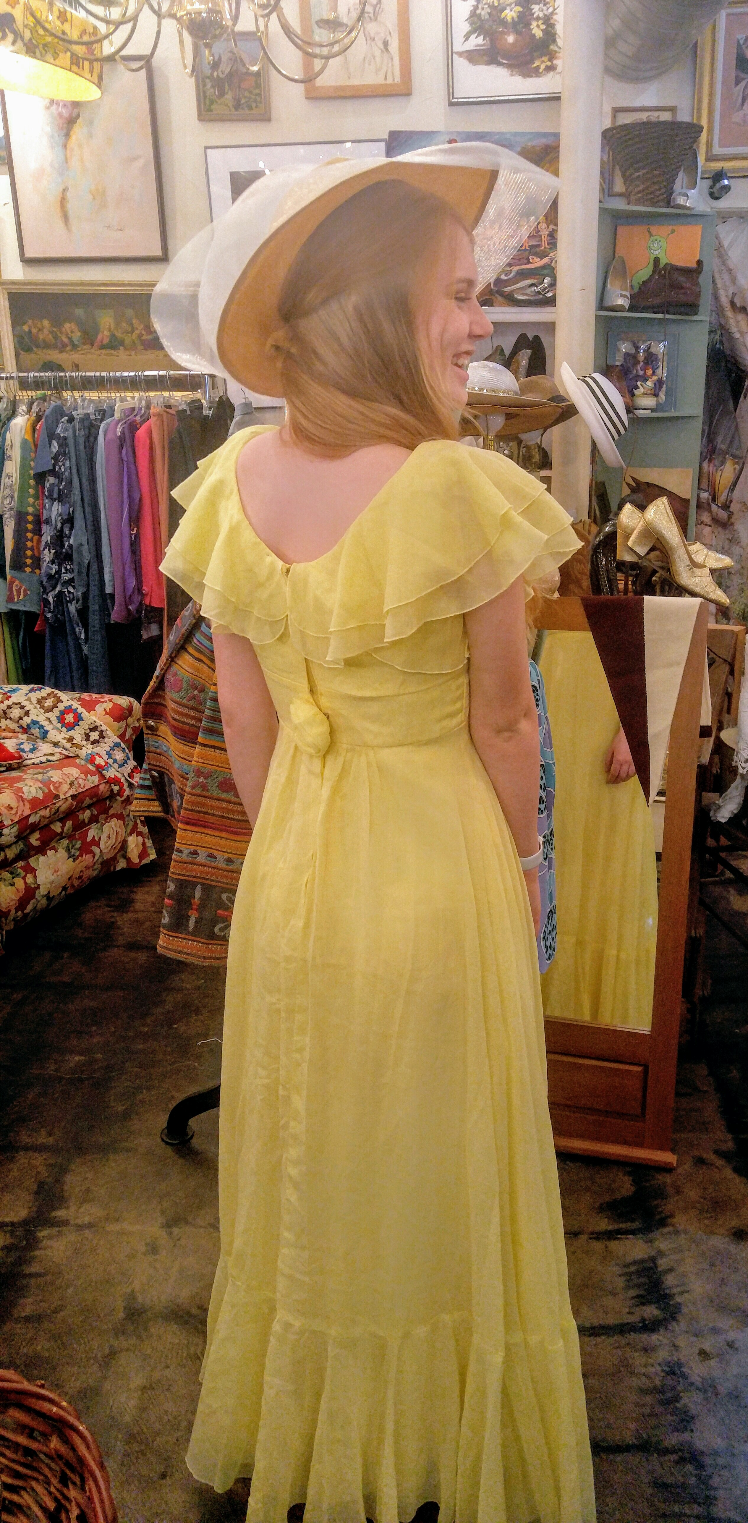 Gorgeous 1970s Dresses just arrived! vintage clothing fort Worth