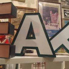 Letters, Fort Worth Vintage
