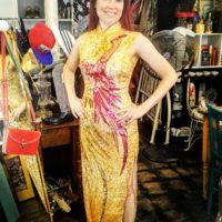 Vintage 1970s Sequin Siren Dress, Fort Worth Vintage Clothing
