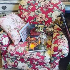 The Most Comfortable Chair in the World, Antiques Fort Worth Texas